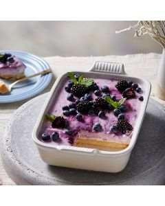 Oppskrift: Ostekake med blåbær