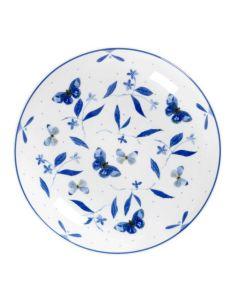 Porsgrunds Porselænsfabrik Bluebird Butterfly Fat/Wok 25 cm Bf