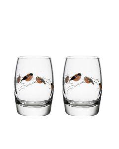 Hadeland Glassverk Dompap Drammeglass
