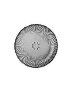 Hadeland Glassverk Siri Asjett 20,5cm Røk Grå 4pk