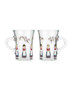 Holmegaard Christmas Jule Hotdrink-glass 2021 24cl 2stk