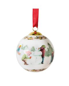 Porsgrunds Porselænsfabrik Christmas Ball 2016 Julekule Barn