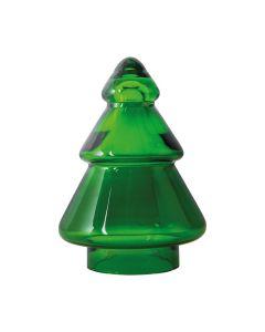 Hadeland Glassverk Gran Juletre Glass Grønn 127 Mm