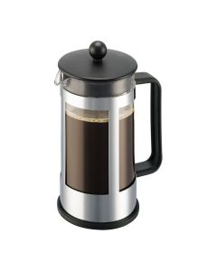 Bodum Kenya Kaffebrygge 8 Kop, 1.0 L, Rustfritt Stål