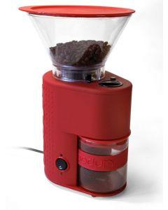 Bodum Bistro Kaffekvern Rød Blank