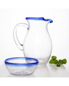 Hadeland Glassverk Skjærgård Mugge 2 Liter