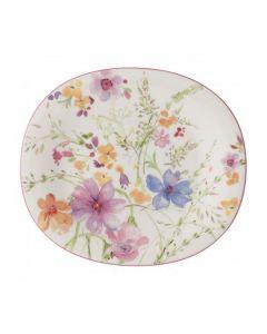 Villeroy & Boch Mariefleur Basic Oval Salat Tallerken 23X19cm