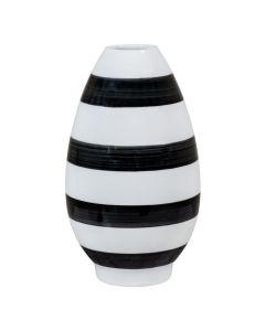 Porsgrunds Porselænsfabrik Stripe Vaser Patron Vase Sort