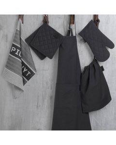 Tekstilsett 6 Deler Sort