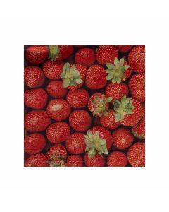 Servietter Jordbær 33x33 cm