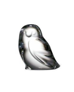 Hadeland Glassverk Dyrefigurer Sneugle 60 Mm