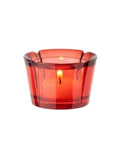 Rosendahl Grand Cru Telyslykt 5cm Rød