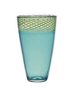 Hadeland Glassverk Toscana Vase 290Mm Turkis