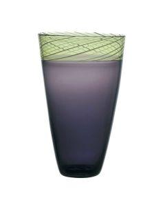 Hadeland Glassverk Toscana Vase 39cm Fiolett
