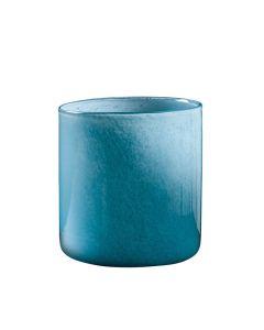 Hadeland Glassverk Ingrid Vase Lav Light Ink Blue Pow