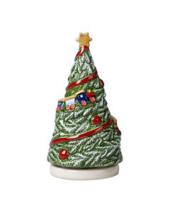 Villeroy & Boch Christmas Toys Spilledåse Juletre Som Snurrer