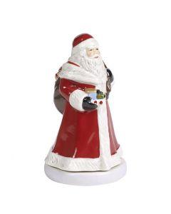Villeroy & Boch Christmas Toys Spilledåse Julenisse Som Snurrer