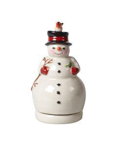 Villeroy & Boch Christmas Toys Spilledåse Snømann Som Snurrer