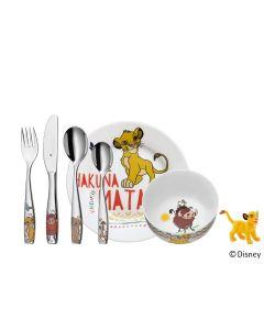 Wmf Barn 6-Piece Child'S Set - The Lion King